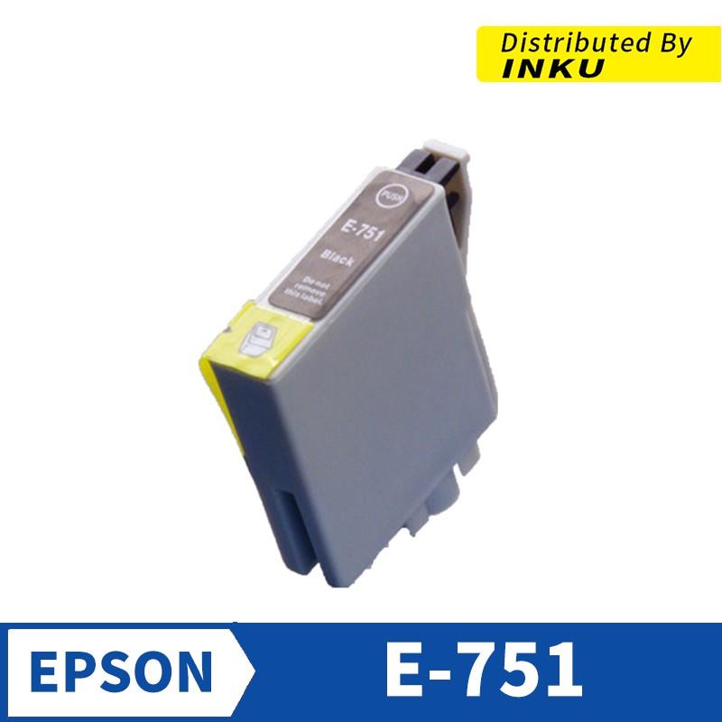 EPSON T0751 相容墨水匣 黑色 Stylus C59/CX2900/CX2905[現貨]