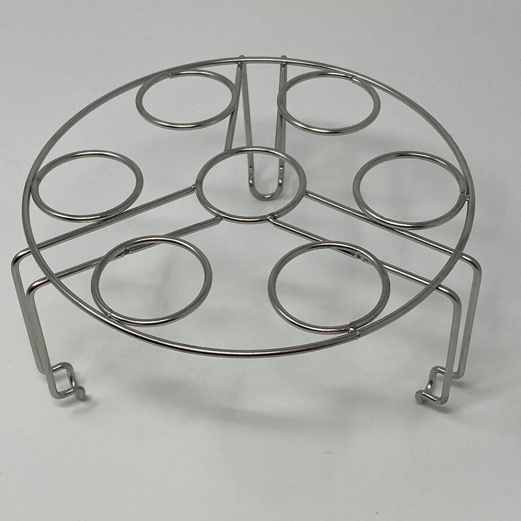 CAXXA凱撒304不銹鋼可重疊7格蒸蛋架 氣炸鍋適用