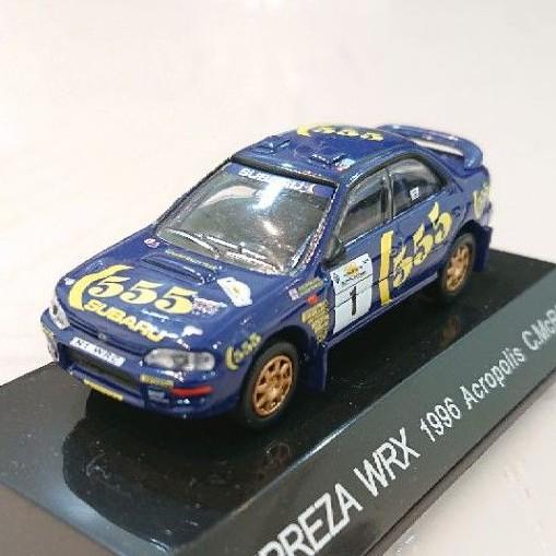 日本代購 CM's 1/64 Subaru impreza wrc (555標記)
