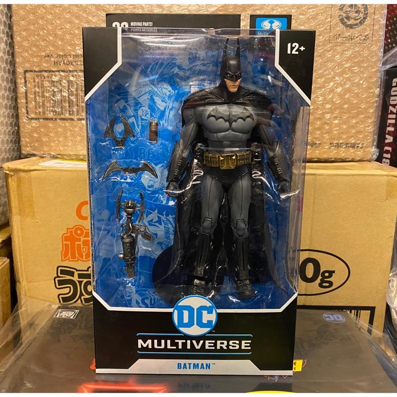 麥法蘭 DC MULTIVERSE 阿卡漢 騎士 蝙蝠俠 Batman 7吋 McFarlane