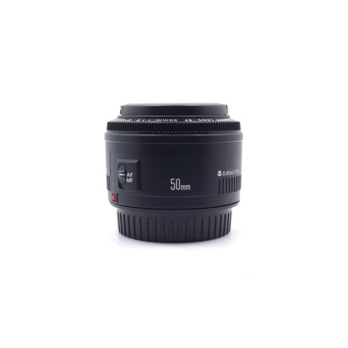 【台中青蘋果】Canon EF 50mm f1.8 II 定焦鏡 二手鏡頭 單眼鏡頭 #55206