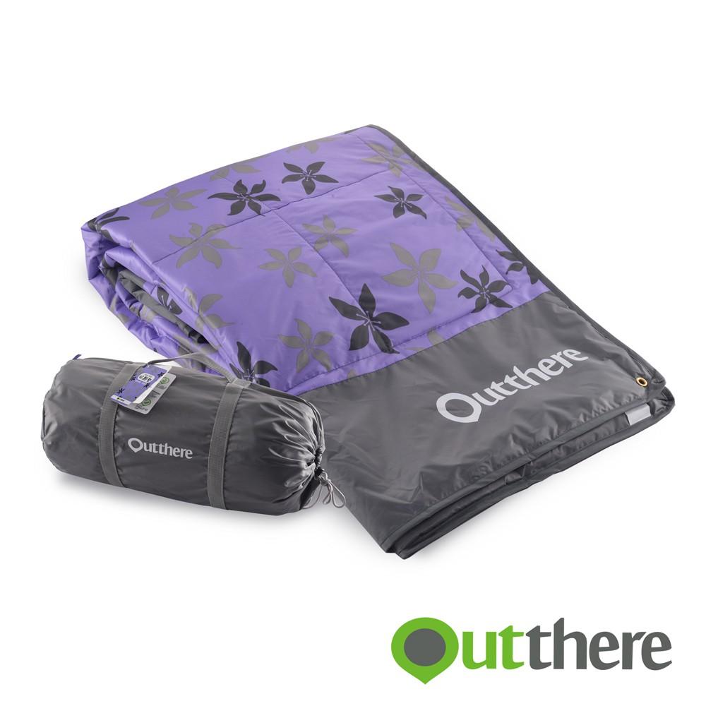 【好野Outthere】好靚墊-時尚紫/3色可選/中層鋪棉/防水牛津底布/帳篷內鋪底/野餐墊