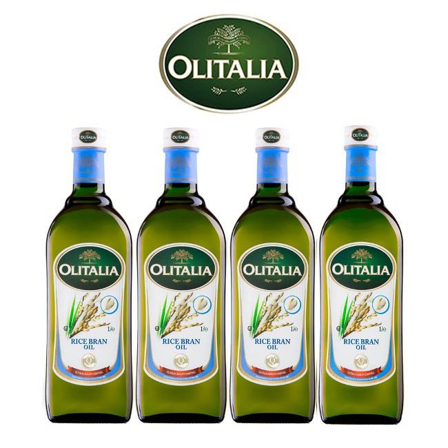 【奧利塔Olitalia】olitalia玄米油1000ml *4瓶_A290002