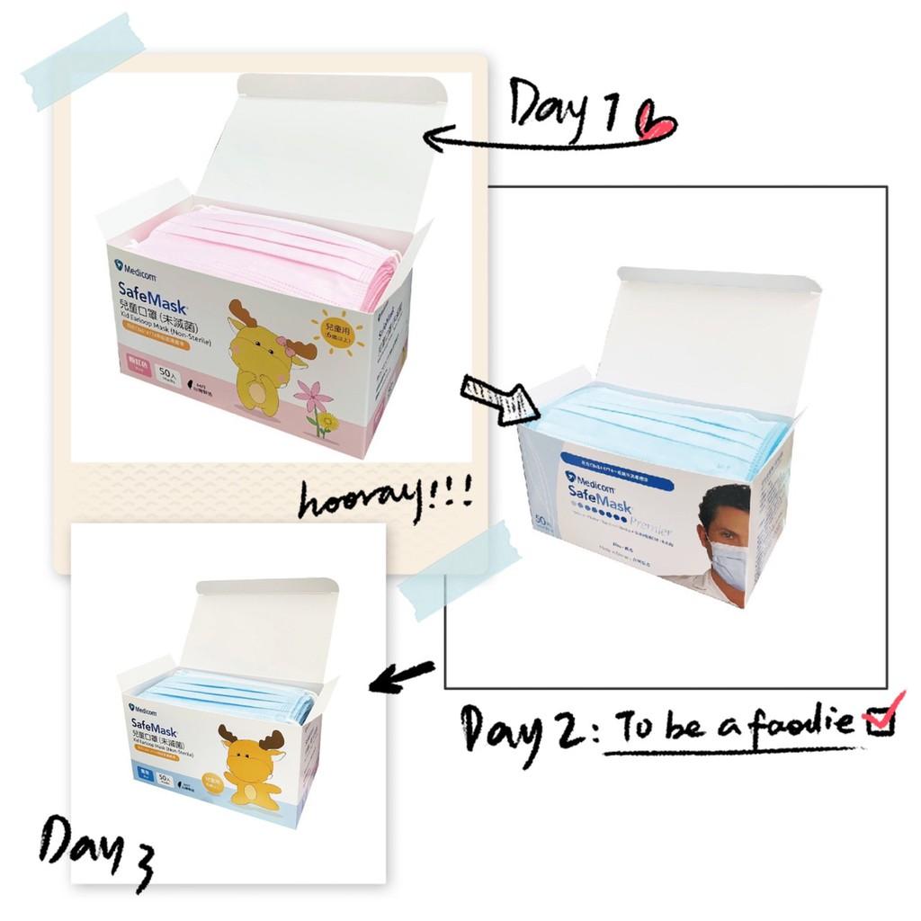 「現貨」麥迪康醫療口罩(未滅菌)50入/盒外科口罩 (成人/兒童)