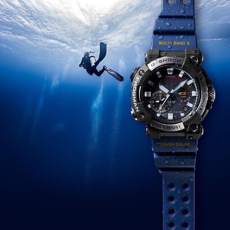 🛍在地老店#G-SHOCK 蛙人系列潛水錶GWF-A1000-1A2