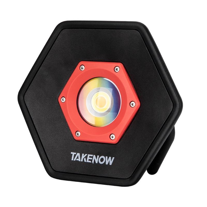 SSD汽車美容用品 TAKENOW鐵朗 六角型 5色溫 美容燈 色差燈 專用腳架