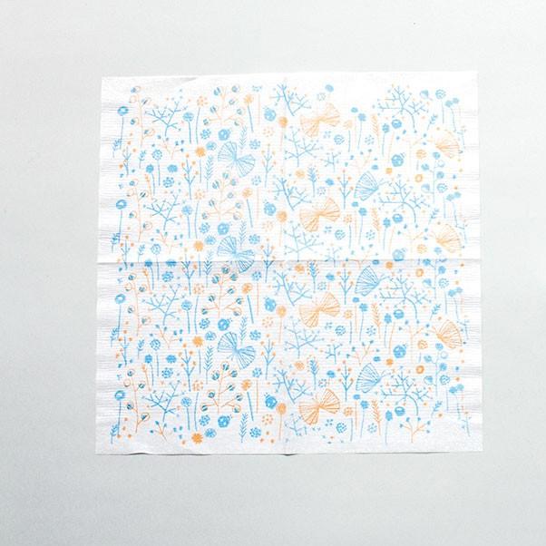 倉敷意匠 x 點線模樣製作所 餐巾紙【繁花綻放 (26546-06)】 岡理惠子