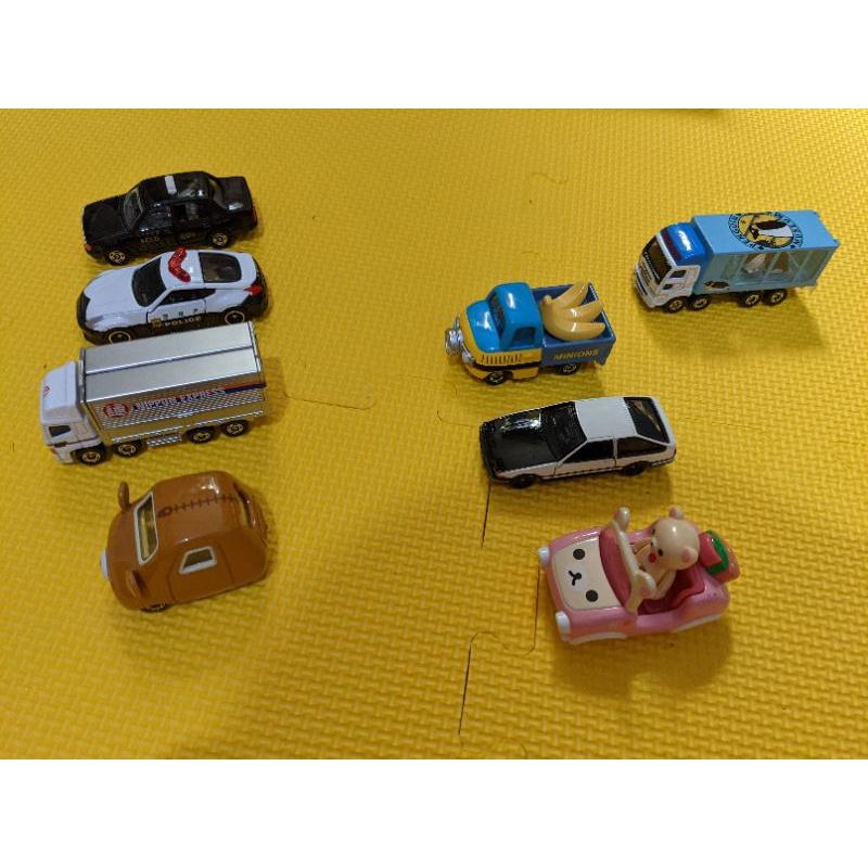 正版Tomica 多美加 日本帶回 藤原豆腐AE86 企鵝搬運 計程車 警車 拉拉熊 小小兵