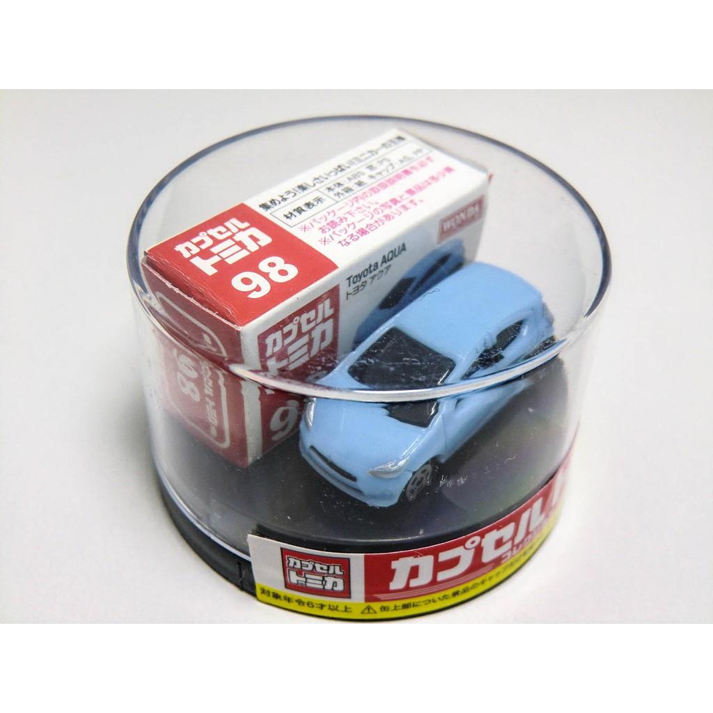 Tomica Capsule Wonda Toyota Aqua  x1台 日本咖啡限定品 超級稀有 值得收藏 !!
