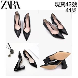 現貨 大尺碼 大碼 ZARA 粗跟 高跟鞋 41號 43號 25.5號 26.5號 高跟鞋 粗跟 zara 大碼 大尺碼 彰化縣