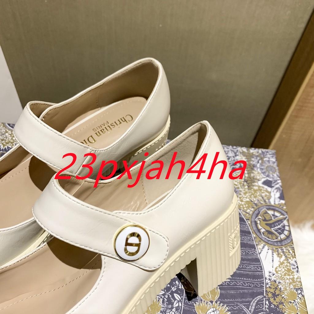 Dior迪奥玛丽珍单鞋小皮鞋 懶人鞋
