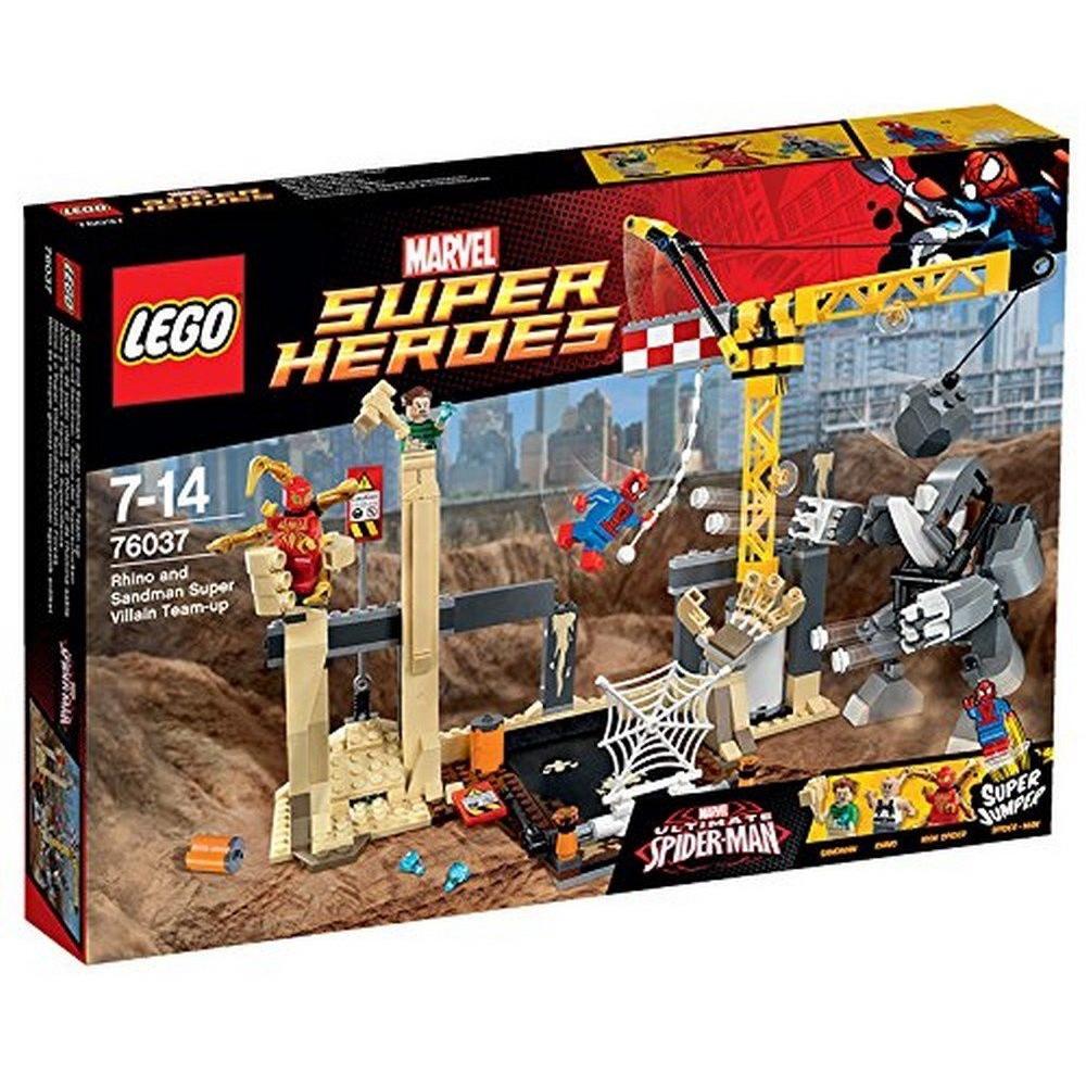 樂高 LEGO 76037 漫威超級英雄系列 犀牛與沙人超級惡霸