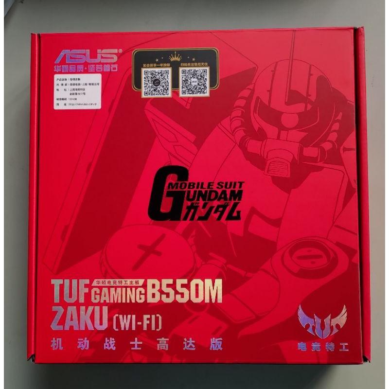 #歡樂屋#ASUS TUF GAMING B550M-ZAKU (WI-FI)鋼彈限定版 現貨發售中 來店自取免運費