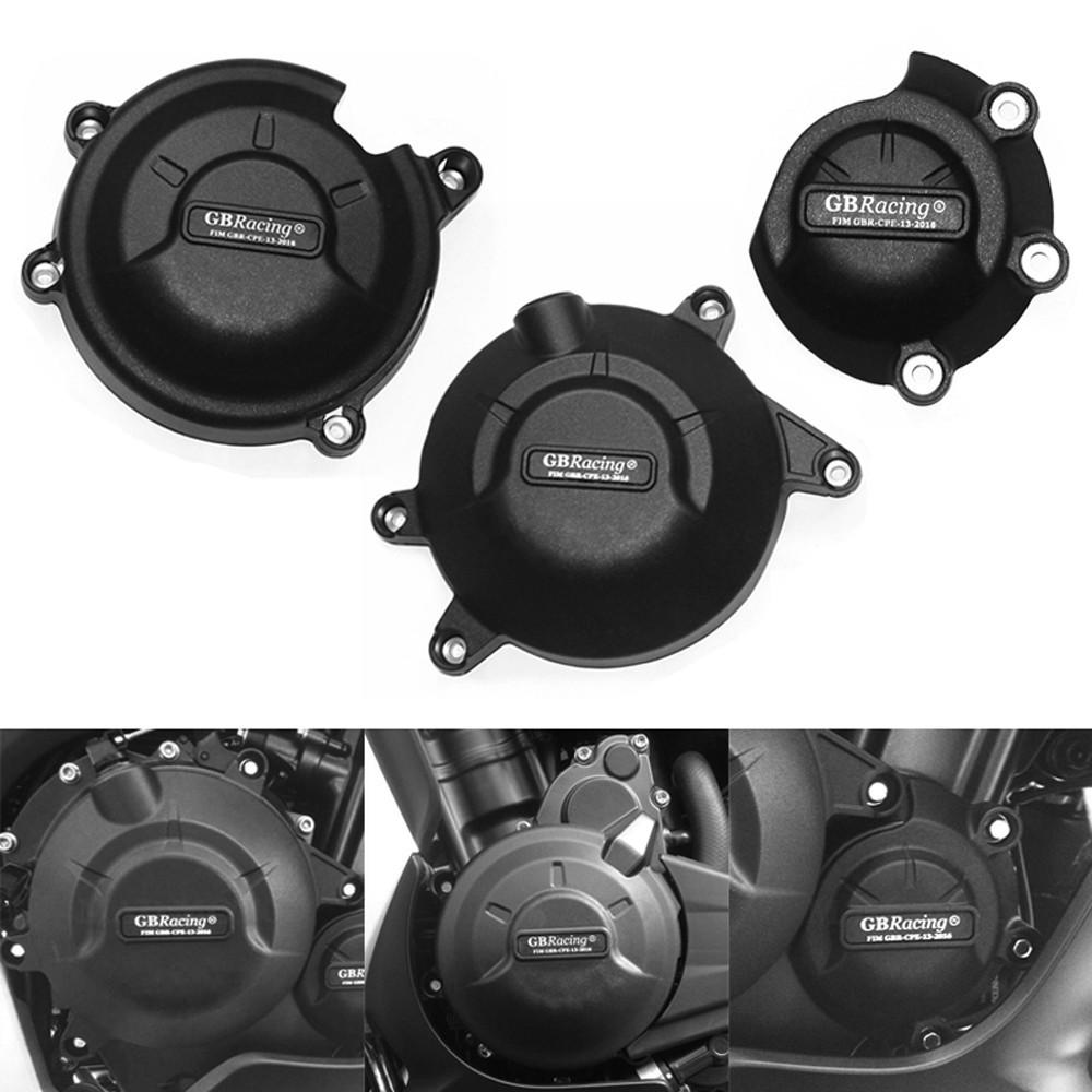 發動機邊蓋保護殼適用HONDA CBR500R CB500F CB500X 13-18 機車引擎防護塊 GBRacing