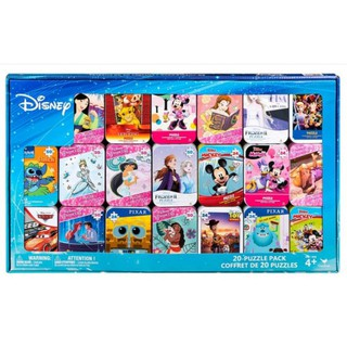 好市多 迪士尼 鐵盒拼圖 24片 50片 米奇 米妮 公主系列 冰雪奇緣 玩具總動員 怪獸電力公司 桃園市