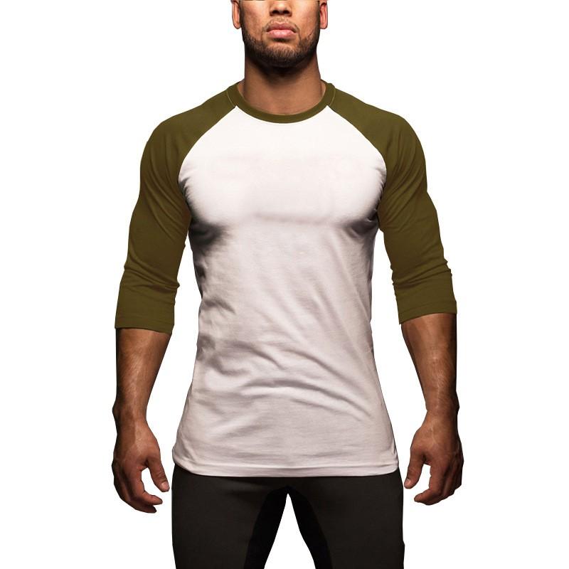 2020夏季新款男士短袖T恤青年男士修身圓領半袖t恤衫一件代發DX13