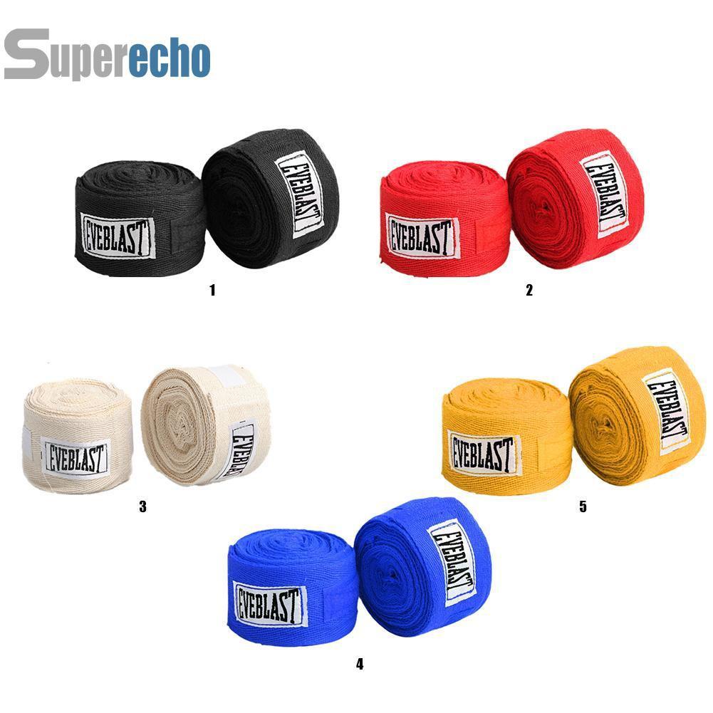 SUPBox運動錶帶拳擊繃帶護手手套套2件舒適棉3m訓練