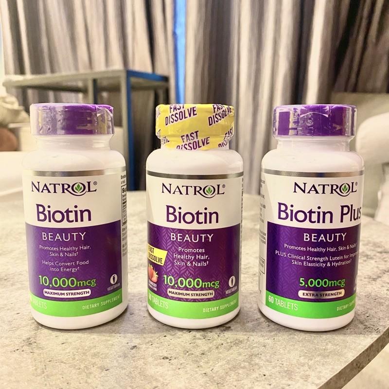 [現貨] Natrol 生物素 Biotin Beauty  頭髮 皮膚 指甲 納妥, 機能保健食品
