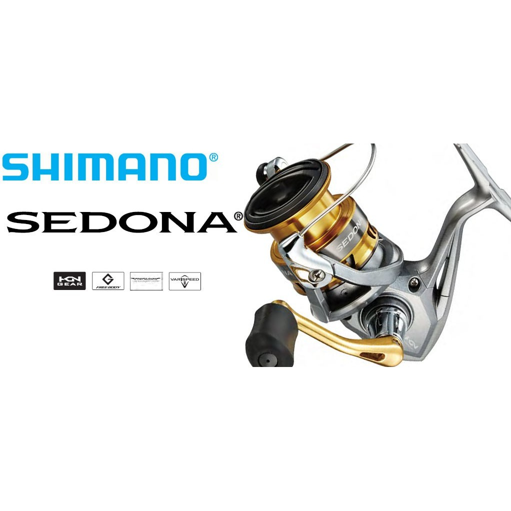 17年最新款 SHIMANO Sedona 2500型-8000型捲線器