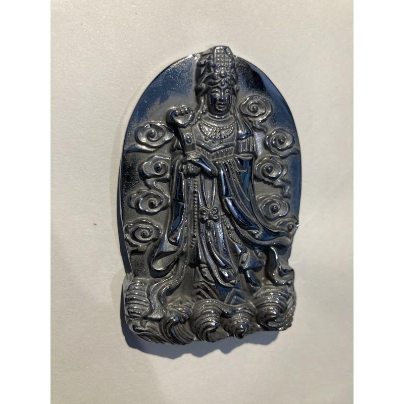 日本能量石 鈦赫茲  媽祖牌件 可當項鍊