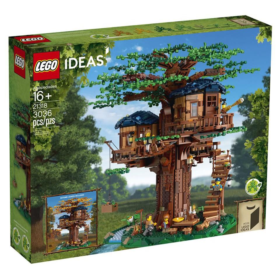 可刷卡 LEGO 樂高 21318 【樂高熊】 IDEAS系列 樹屋 全新未拆 保證正版