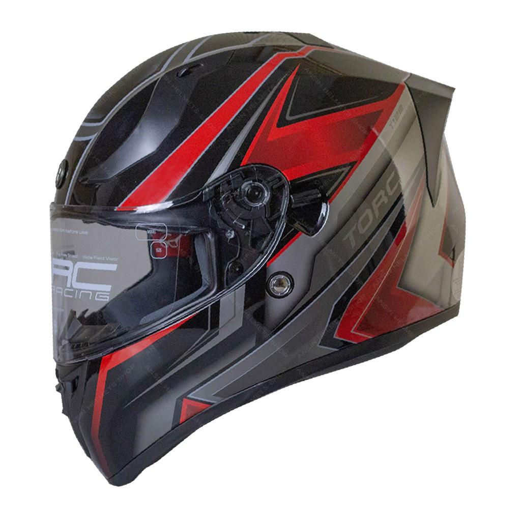 [安信騎士] TORC T15 彩繪 RED GRAVITY 黑紅 雙鏡片 全罩 安全帽 雙D扣 DOT ECE
