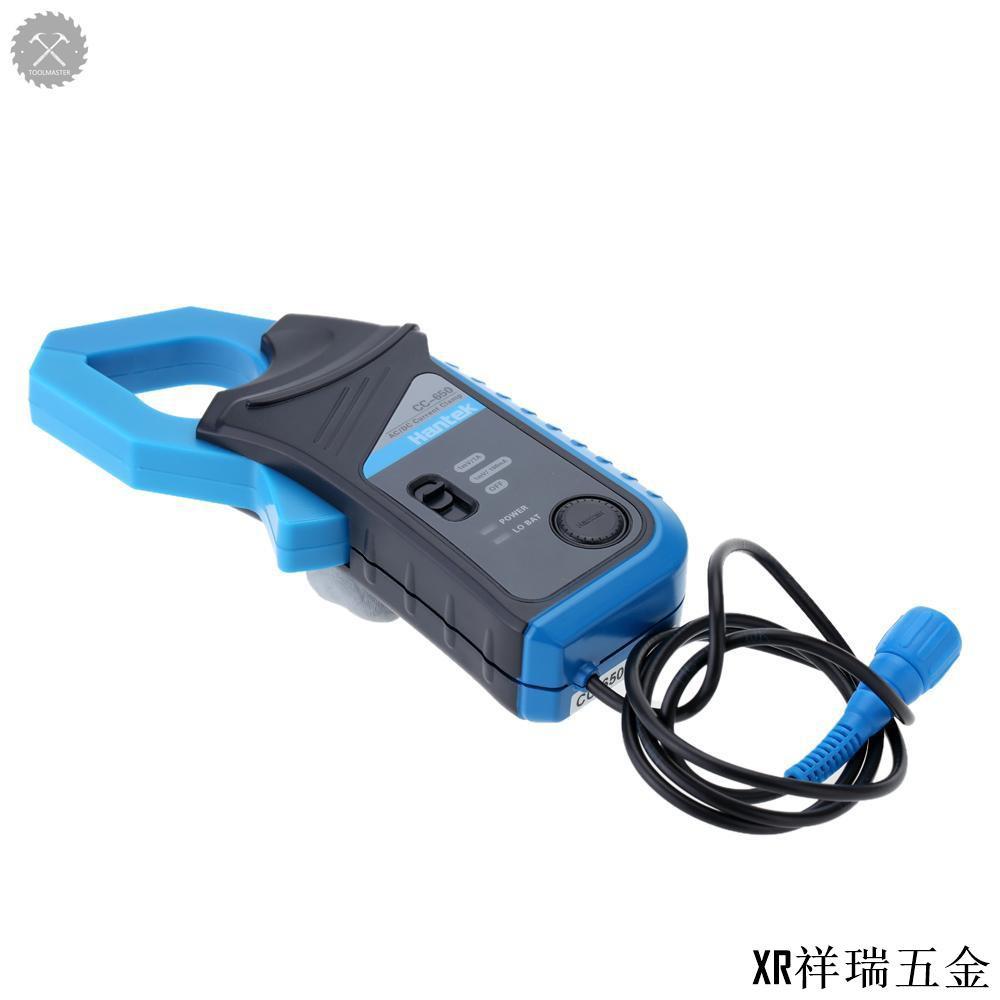 漢泰CC-650 交/直流電流鉗BNC接頭400Hz帶寬20mA-650A 不帶電池出貨/XR祥瑞五金