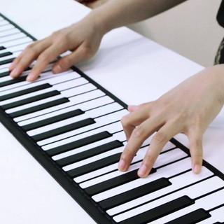 現貨 手卷鋼琴88鍵加厚專業版MIDI鍵盤家用成人初學者學生便攜式電子琴 高雄市