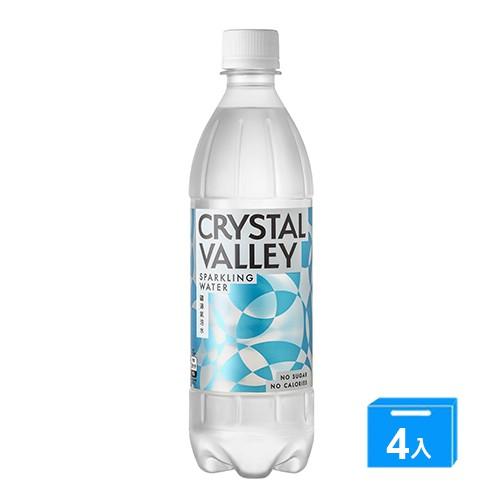 礦沛氣泡水585ML x 4【愛買】