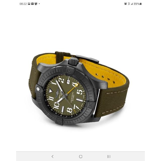 🌈★百年靈 Breitling Avenger GMT 45 Night Mission [台灣AD貨]★🌈
