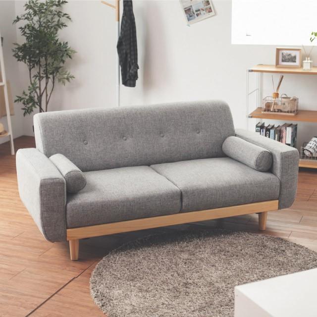 完美主義|Vega 雷思麗北歐木作2.5人座沙發 沙發 椅子 雙人沙發 沙發椅 沙發床 布沙發【Y0010】