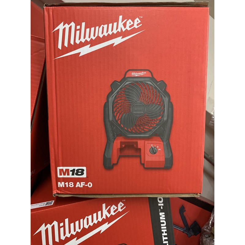 全新 米沃奇 電風扇 18V的 milwaukee 0886-20 電風扇如圖