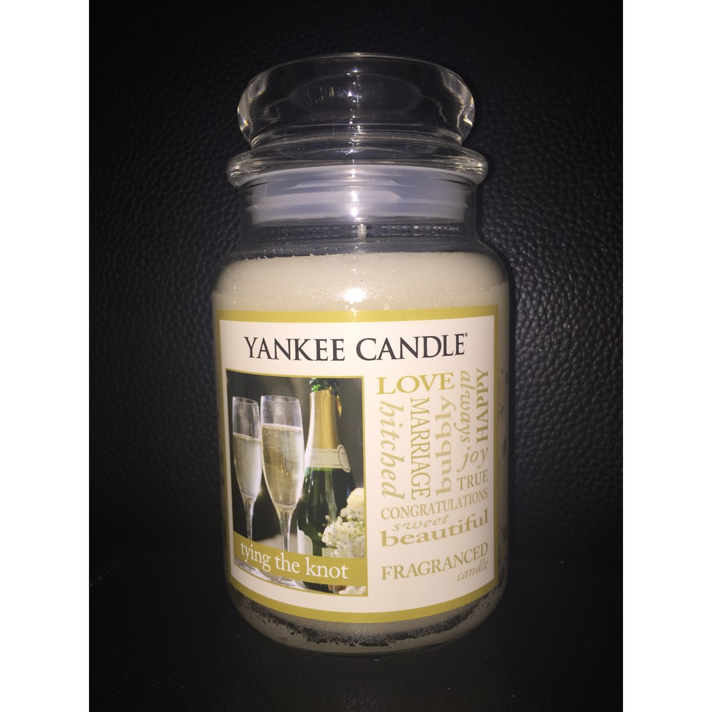 Yankee Candle XYCE071T trying the knot 蠟燭 22oz