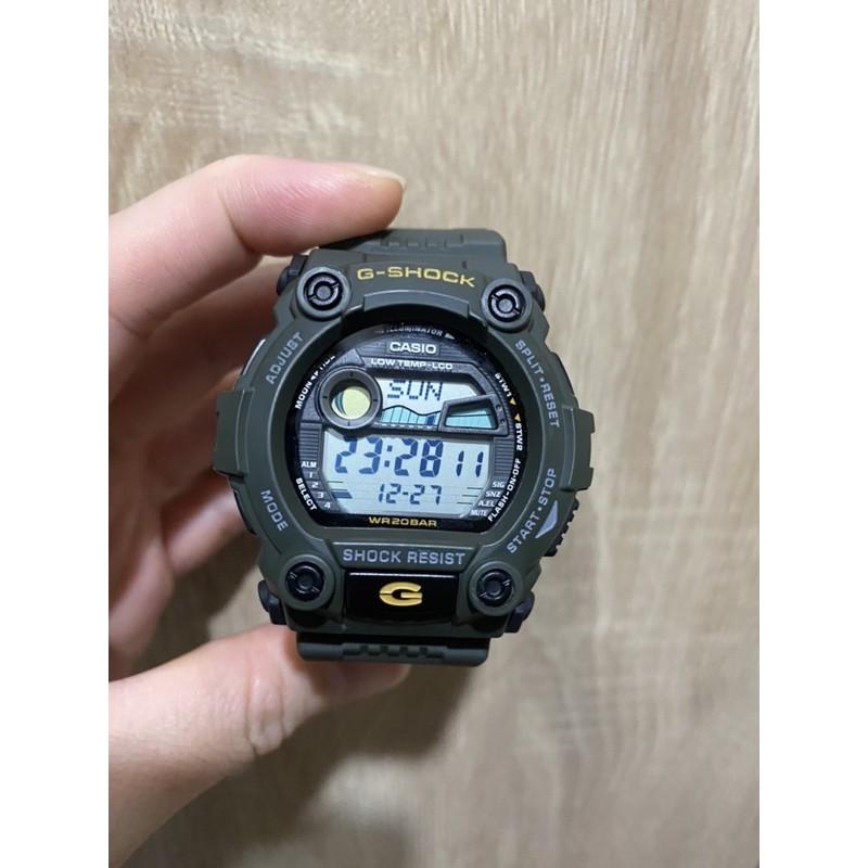 超新割愛 軍事風 軍綠色 CASIO G-SHOCK  G-7900-3 G7900 潮矽(GA2100參考)
