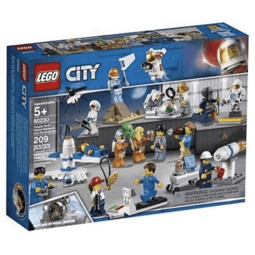 【ToyDreams】LEGO樂高 城市CITY 60230 人偶套裝-太空研究與開發