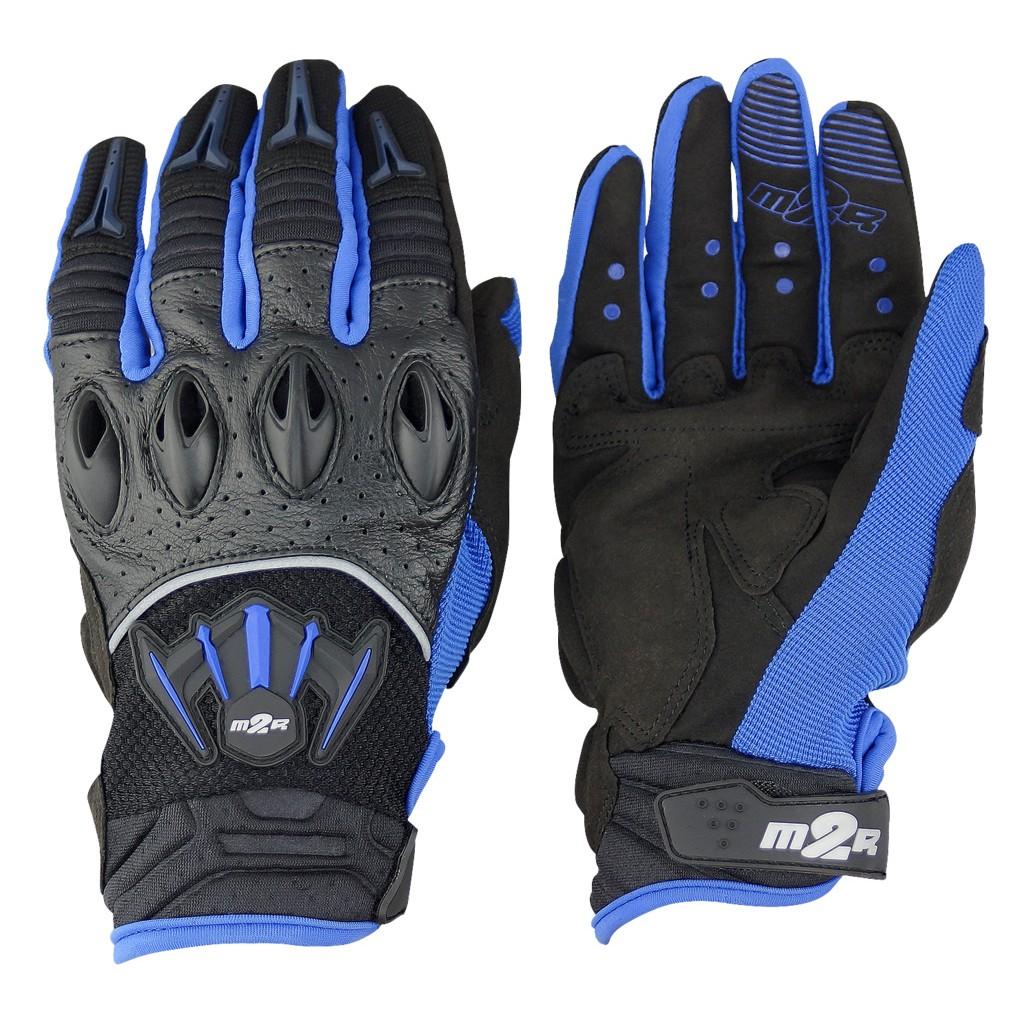 【 保康安全帽 】 M2R G-06 藍色 專業透氣防摔手套  通風不悶熱 限時優惠中
