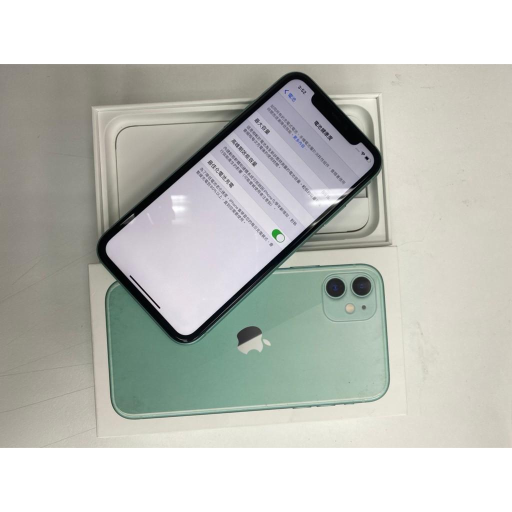 APPLE Iphone 11  128G 綠色 二手機☆勿直接下單請先聊聊☆