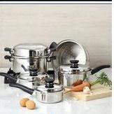 安麗複合式21件組 原味金鍋