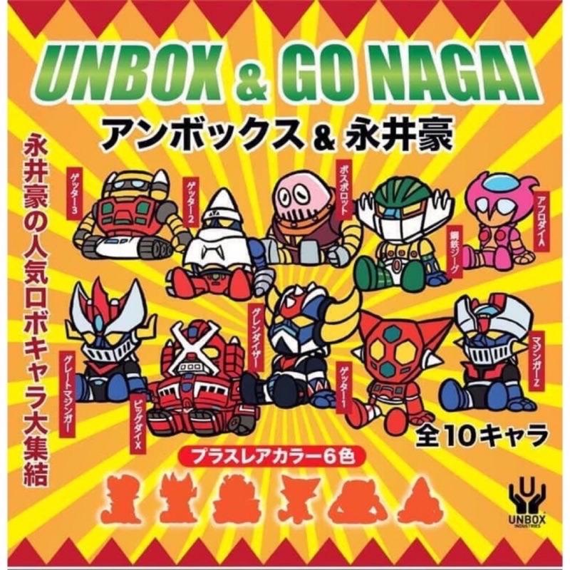 一中盒 現貨 Nagai x Unbox 盒玩 Unbox 永井豪 無敵鐵金剛