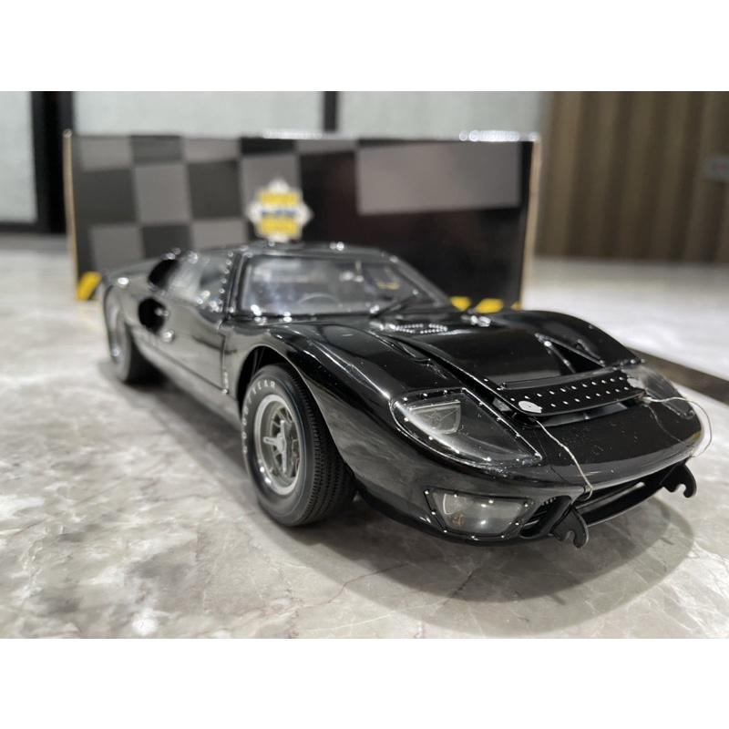 1/18 exoto Ford gt40 絕版車 黑