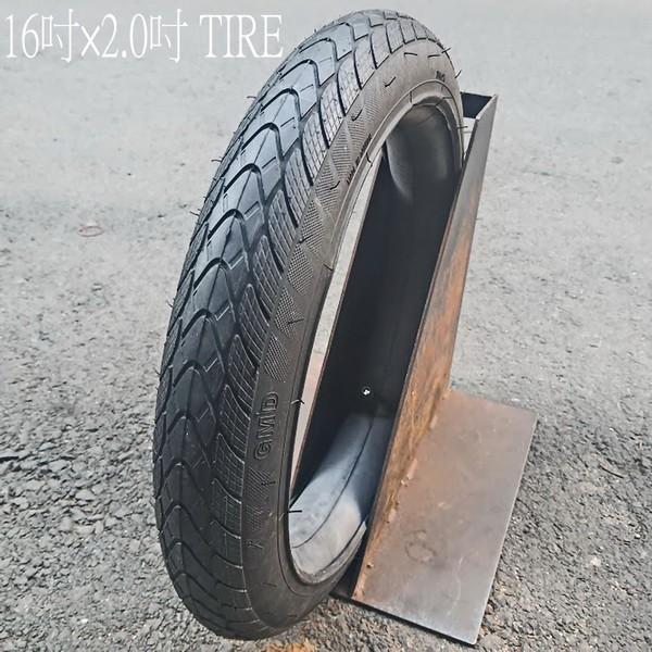 16吋 BMX 全地形街道外胎1 6×2.0 TIRE 含內胎 DH/極限單車/攀岩車/街道車/單速車