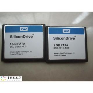 原裝 WD CF 1G SSD-C01G-3500 SILICON CF卡 1GB 工業級CF卡 桃園市