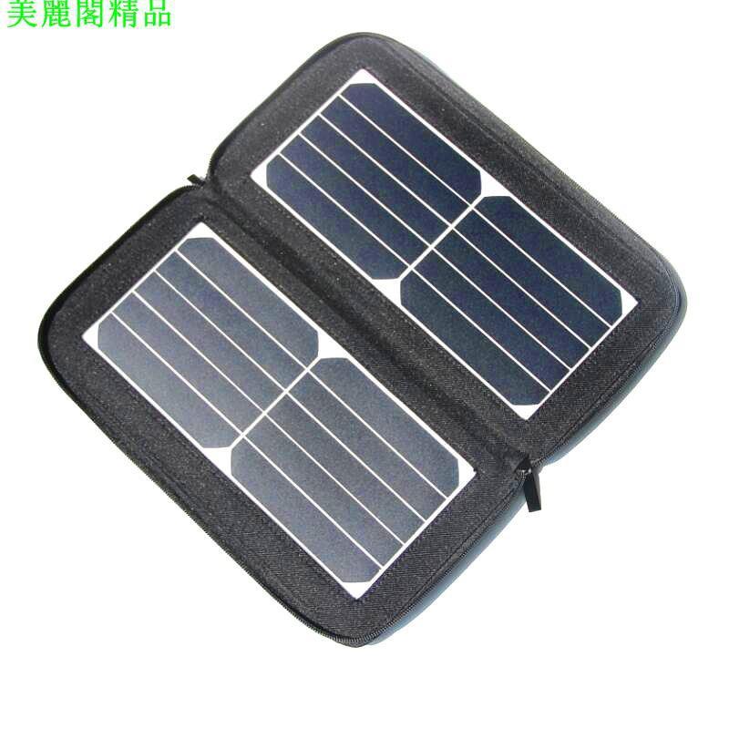 熱銷#新款益良光-便攜12W太陽能充電器手機移動電源充電寶 Sunpower*