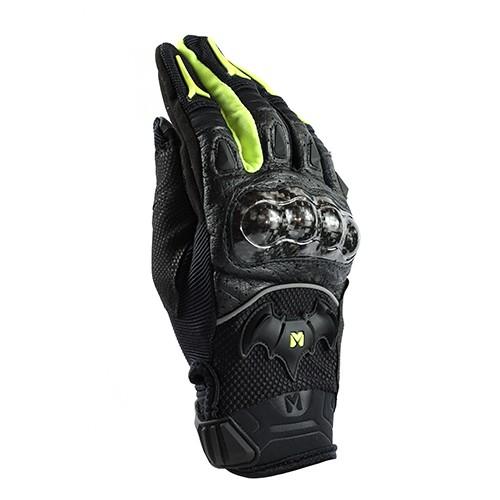 <益發安全帽台中店> Masontex M15 (黑黃) 夏季摩托車手套