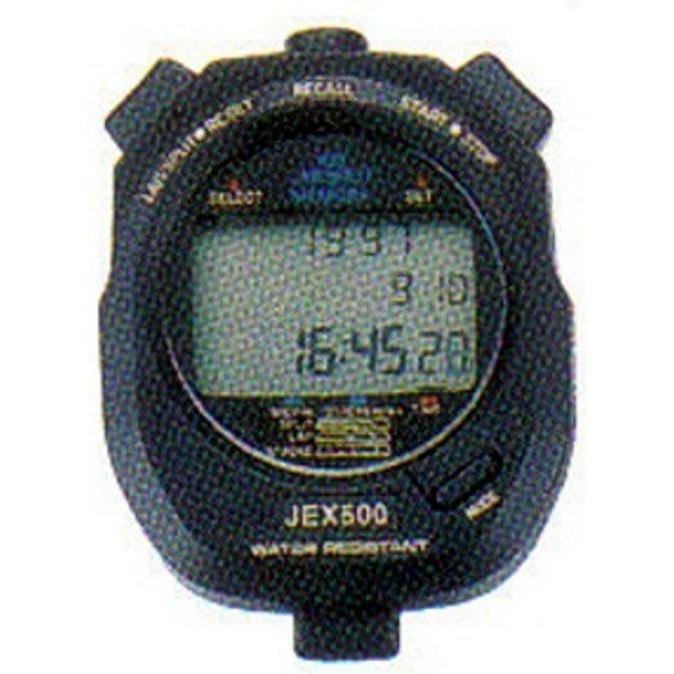 (現貨) JEX-500 電子碼錶 跑錶 碼表 100組記憶型 棒球 壘球 田徑 計時 運動會用
