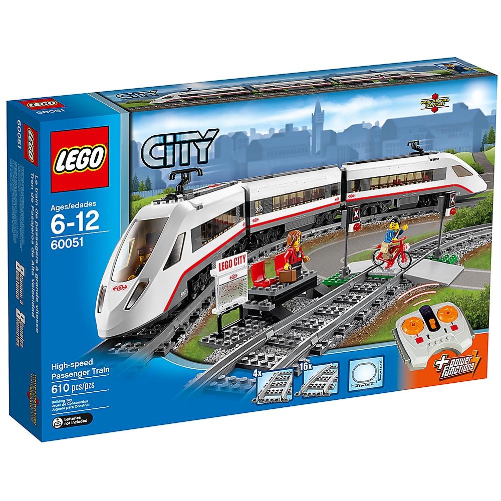 LEGO 60051 城鎮系列 High-speed Passenger Train【必買站】樂高盒組