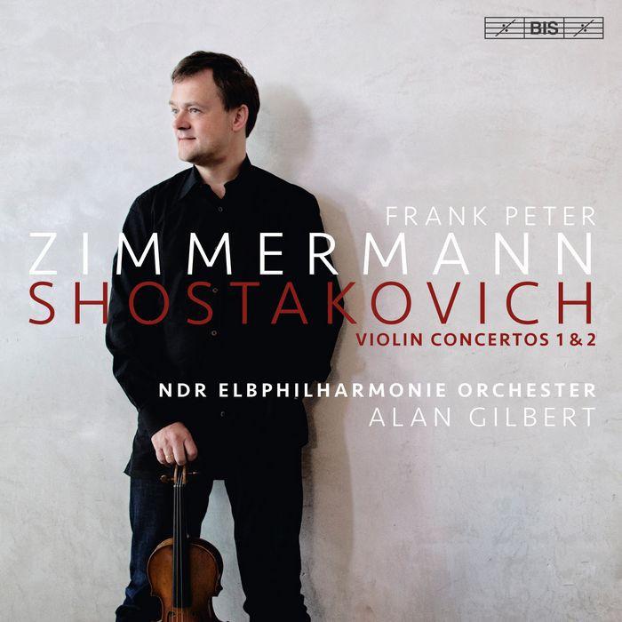 (BIS) 蕭士塔高維契 第1號 2號小提琴協奏曲 齊瑪曼 Zimmermann SACD2247