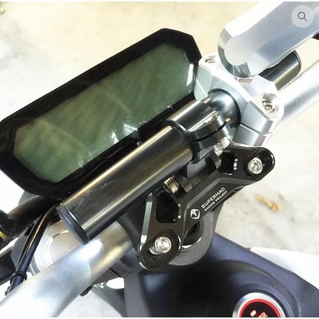 ✔現貨-適用SOCO-TS導航支架/質感改裝配件/機車電動機車自行車用手機架騎行裝備