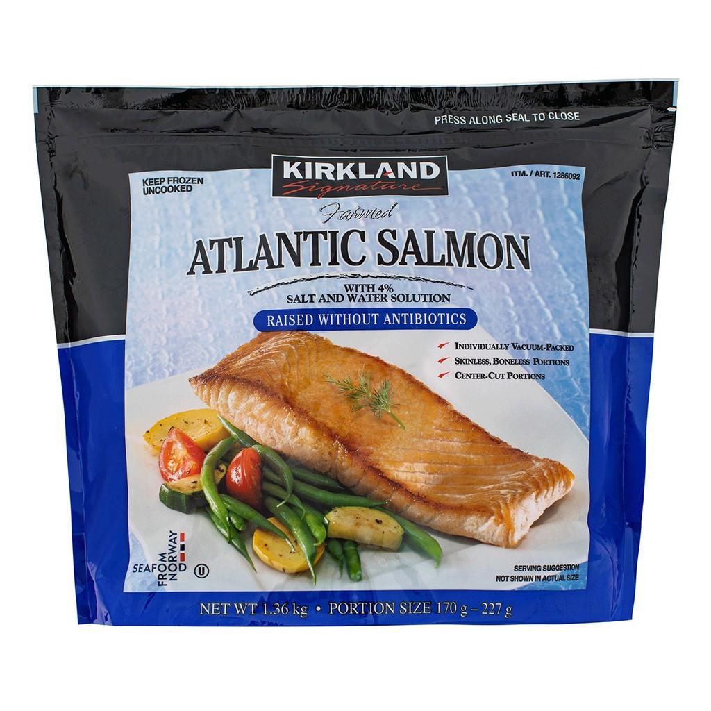 ~好市多代購(宅配免運) #1286092 KS 科克蘭 冷凍鮭魚排 1.36公斤