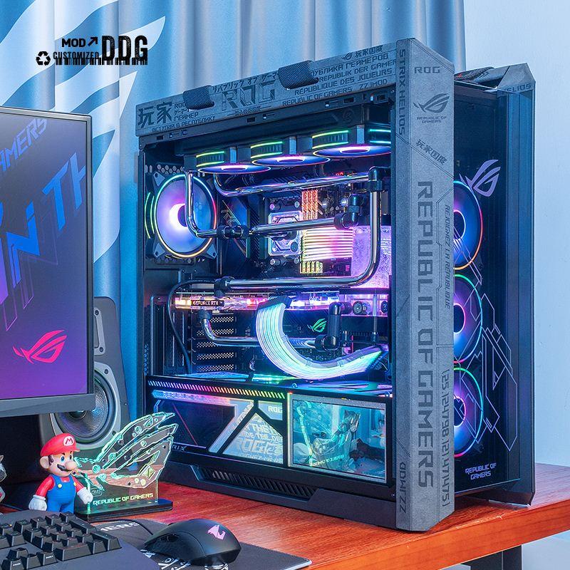 【現貨 速發】DDG華碩ROG全家桶高端水冷遊戲電腦主機I9 5950X RTX3080TI/3090